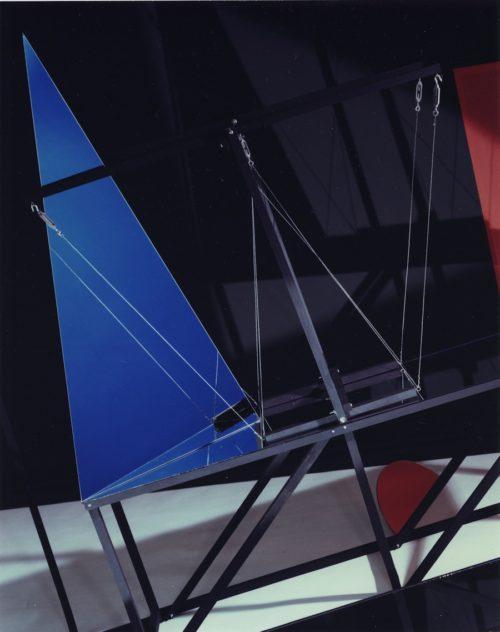 Barbara Kasten<br>Construct LB/6<br>1982<br>Polacolor<br>10 x 8 inches<br>Edition: 3/10