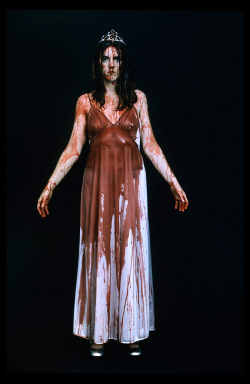 <i> Carrie (Horror Girls) </i> <br> Digital C-print <br> 60 x 30 inches <br> 1996
