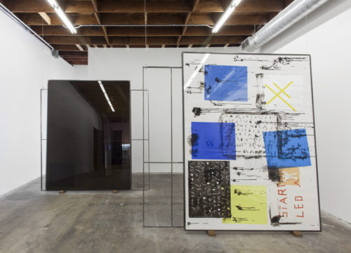 <i>The Great Train Robbery (Scene 3 version A)</i><br>Installation view<br>LAXART, Los Angeles, CA<br>2013