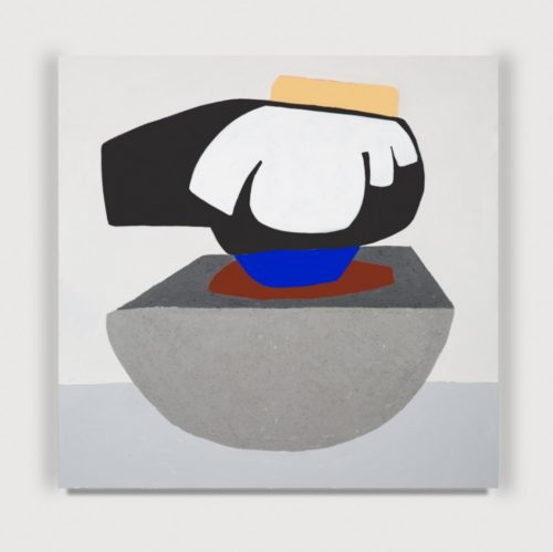 <i>Soft Tyranny</i><br>Acrylic on wood panel<br>40 x 40 inches <br> 2014