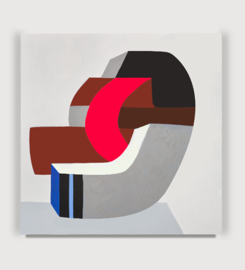 <i>micro-micro</i>, 2014<br>Acrylic on wood panel<br>40 x 40 inches <br> 2014