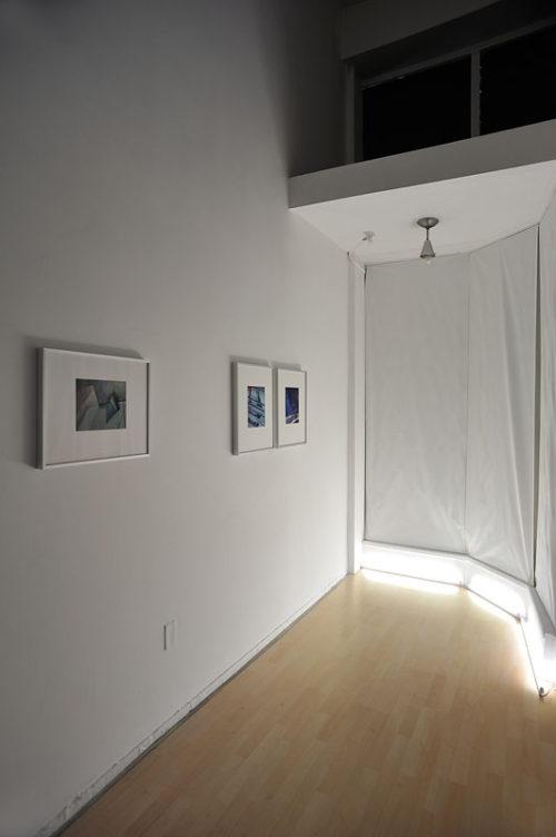 Barbara Kasten<br>Behind the Curtain<br>Installation view