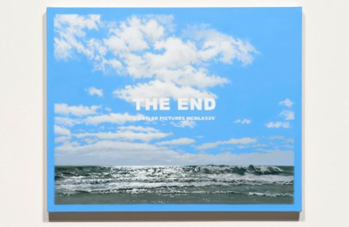 <i>The End XX</i><br>Acrylic on canvas<br>24 x 30 inches<br>2015<br>