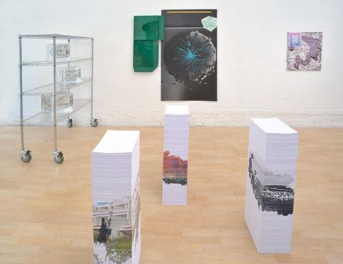"""Digital Infinity""Installation view, Jessica Silverman Gallery, 2013"