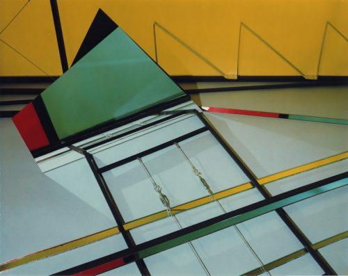 Barbara Kasten<br> <i>Construct VI-B</i><br>Polacolor<br>10 x 8 inches<br>1981<br>Edition: 1 AP