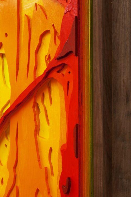 Julian Hoeber<br>Cave Painting #1, 2013<br>Details