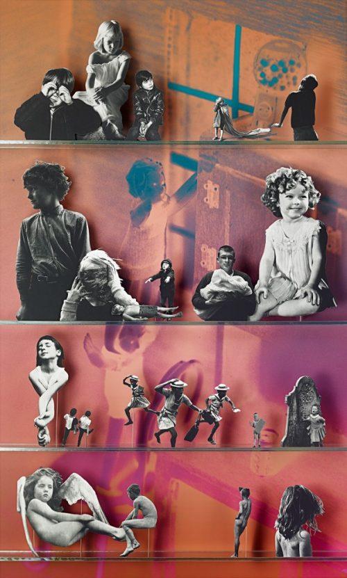 Matt Lipps<br> <i>Children (Library)</i><br>C-print<br>66.25 x 50 inches<br>2013
