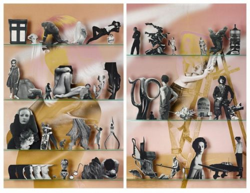 <i>Themes</i><br>C-print, Diptych<br>93 x 72 inches, 72 x 46.5 inches each panel<br>2013