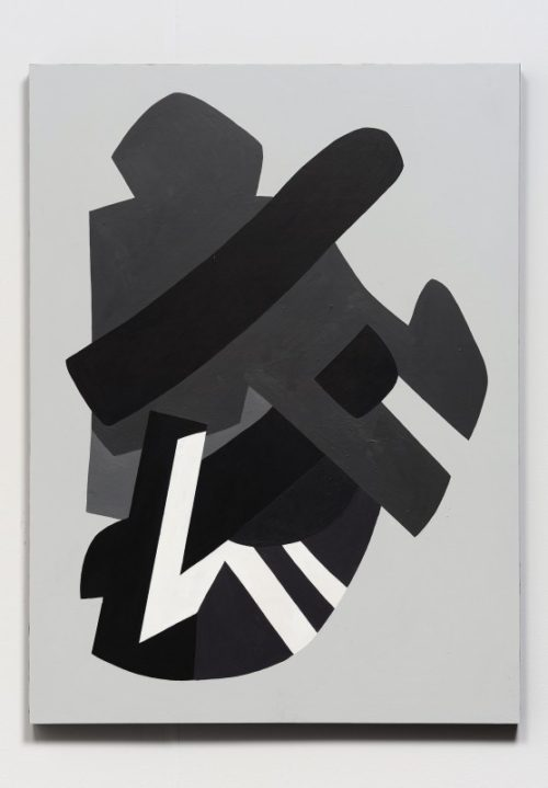 Hayal Pozanti<br>Second Spectrum Spool, 2013<br>Acrylic on wood panel<br>48 x 36 inches
