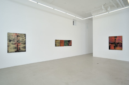 """Invisible Green"" installation view"