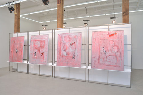 """""""The History of Technology"""" installation view"""