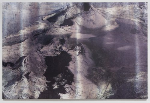 Hugh Scott-Douglas<br><i>Untitled</i><br>UV curable ink on wood panel<br>80 x 120 inches<br>2014