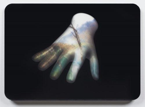 Susanne M. Winterling<br><i>On Certainty (screen version)</i><br> Digital print on plexiglas<br>14.25 x 20.25 inches<br>2014