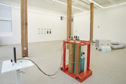 "Installation view from ""Residuals"""