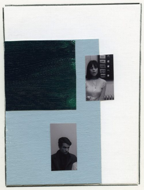 Ian Wallace<br> <i>Enlarged Inkjet Study for Masculin Feminin II</i><br>Inkjet print<br>49 x 36 1/2 inches<br>2010