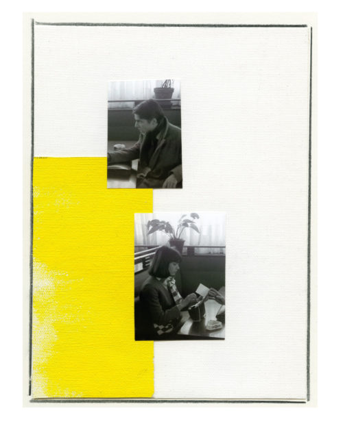 Ian Wallace<br> <i>Enlarged Inkjet Study for Masculin Feminin VI</i><br>Inkjet print<br>49 x 36 1/2 inches<br>2010