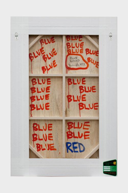 <i>Blue Wound</i><br>Reverse<br>2013<br>