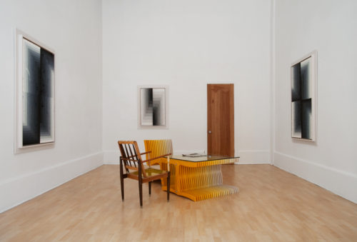 Installation view at Silverman Gallery, 2011