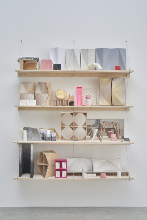 <i>Form Index</i><br>Materials variable<br>Installed dimensions variable<br> Shelving unit: 72 x 60 x 14 inches<br>2015