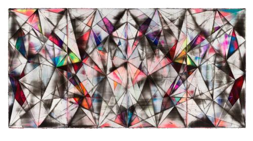 <i>Googol</i><br>Acrylic on linen<br>95 x 189 inches<br>2015<br>