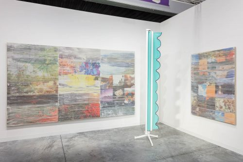 Installation view, Art Basel Miami Beach, Jessica Silverman Gallery, 2016