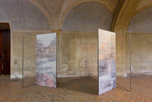 Installation view, Granpalazzo 2015, Zagarolo, Italy