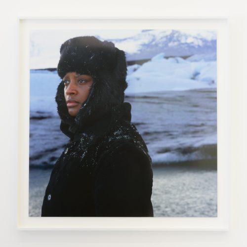 <b>Isaac Julien</b><br><i>True North Series</i><br>Digital print on Epson Premium Photo Glossy <br>39.4 x 39.4 inches <br>2004