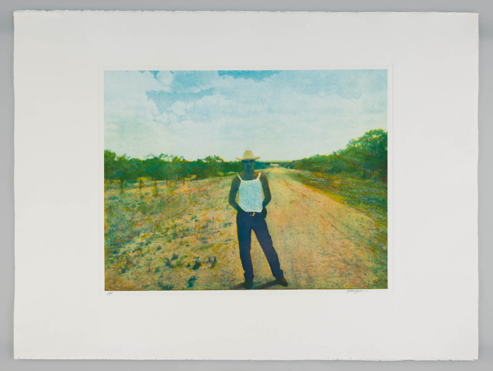 <i>After Mazatlán II</i><br> Color photogravure, framed<br> 14 x 18 inches<br> 1999