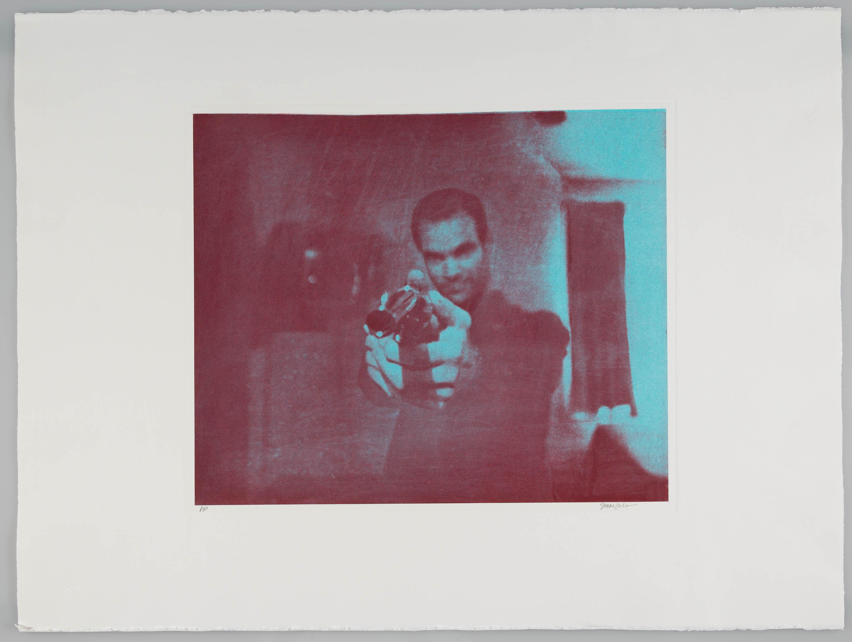 <i>After Mazatlán V</i> <br> Color photogravure, framed<br>14 x 18 inches<br> 1999