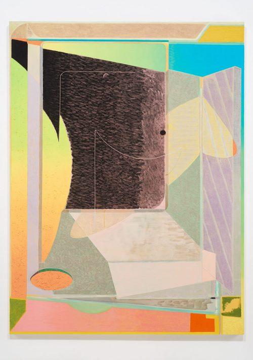 Sebastian Fierro<br><i> Interface</i>, 2016<br> Oil on canvas<br> 78.4 x 59 inches / 199 x 149.9 cm