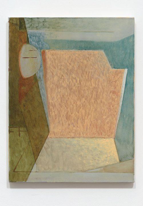 Sebastian Fierro<br><i> Observatory no 2.</i>, 2016<br> Oil on canvas<br> 25.5 x 19.6 inches / 64.8 x 49.8 cm