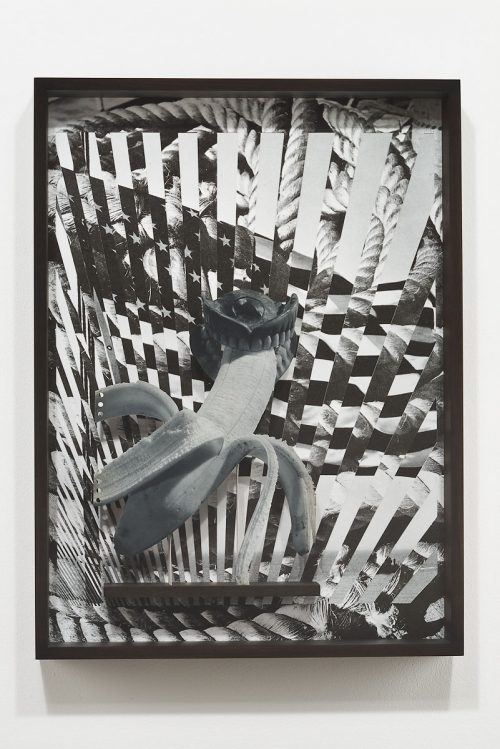 Matt Lipps<br><i> Glorious</i>, 2016<br> Archival pigment print, mixed media, artist's frame<br> 22.75 x 16.75 x 2.75 inches / 57.8 x 42.5 x 7 cm