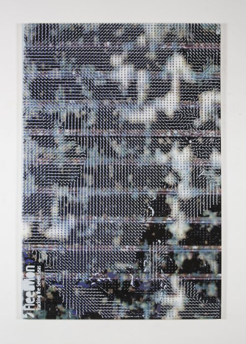 Hugh Scott-Douglas<br> <i>080 Boomerang - Oceania</i>, 2017<br> UV cured inkjet and digital resin print on canvas over di-bond panel<br> 80 x 53 inches / 203.2 x 134.6 cm