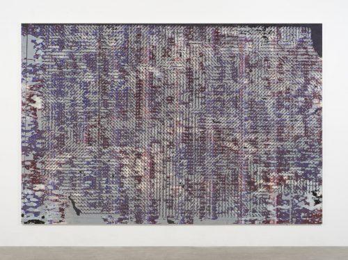 Hugh Scott-Douglas<br><i>Trans-Tasman Services - Westbound</i>, 2017<br> UV cured inkjet and digital resin print on canvas over di-bond panel<br> 80 x 120 inches / 203.2 x 304.8 cm