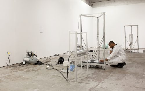 Installation view, MOCA Detroit, 2016