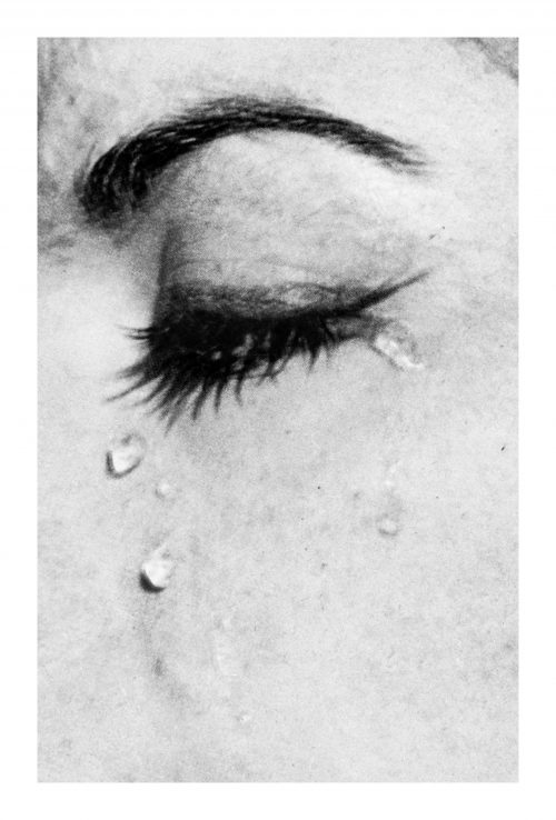 Anne Collier<br> <i>Woman Crying #13</i>, 2017<br> C-print<br> 35.2 x 53 inches / 89.5 x 134.6 cm
