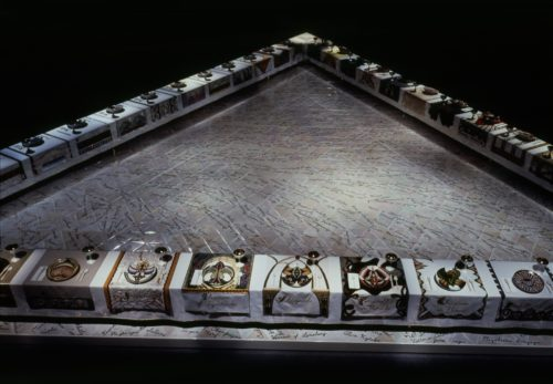 <i>The Dinner Party</i>, 1979<br> San Francisco Museum of Modern Art<br> Installation view