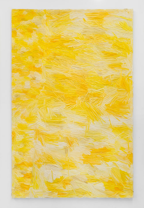 Dashiell Manley<br> <i>Elegy for whatever (San Bern.),</i> 2015<br> Oil on linen<br> 82 x 53 inches