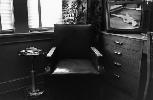 Lee Friedlander<br> <i>Atlanta,</i> 1962 / printed later signed, titled & dated verso in pencil<br> Gelatin-silver print<br> Image: 12 1/4 x 18 1/4 inches / 31.1 x 46.4 cm<br> Sheet: 16 x 20 inches / 40.6 x 50.8 cm