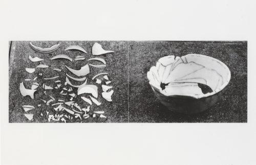 Amikam Toren<br> <i>Replacing No.3,</i> 1975, printed 2013<br> Digital print on Somerset Velvet paper<br> 12 1/2 x 22 1/8 in. / 31.8 x 56.2 cm