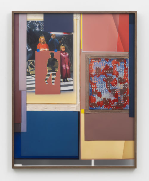 <i>Sibling Rivalry</i><br>Archival pigment print<br> Framed: 53 13/16 x 42 13/16 x 2 inches / 136.7 x 108.7 x 5.1 cm<br> 2018