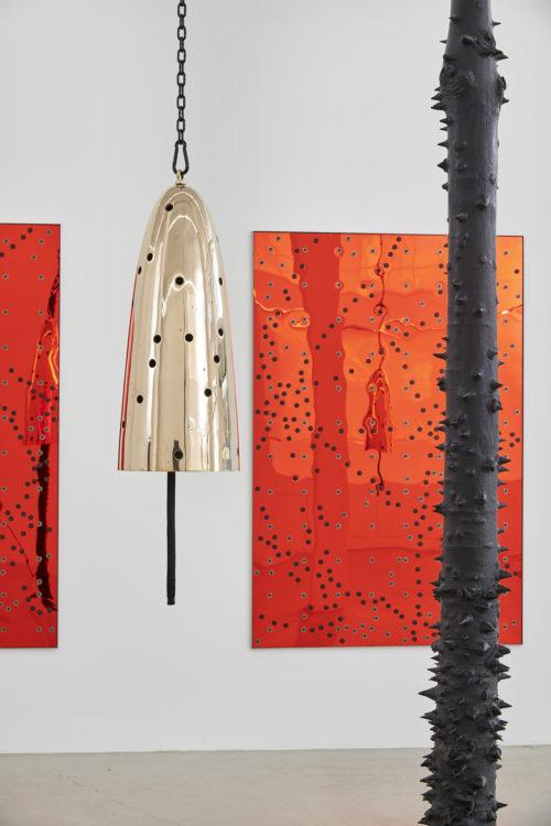 Installation view, Precarious Hardware, Jessica Silverman Gallery, 2019