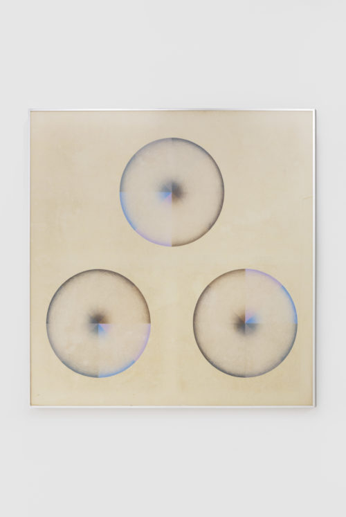 Judy Chicago <br><em>Large Dome Drawing #3</em>, 1968-1969<br> Prismacolor on paper <br> 54 x 54 inches / 137.2 x 137.2 cm