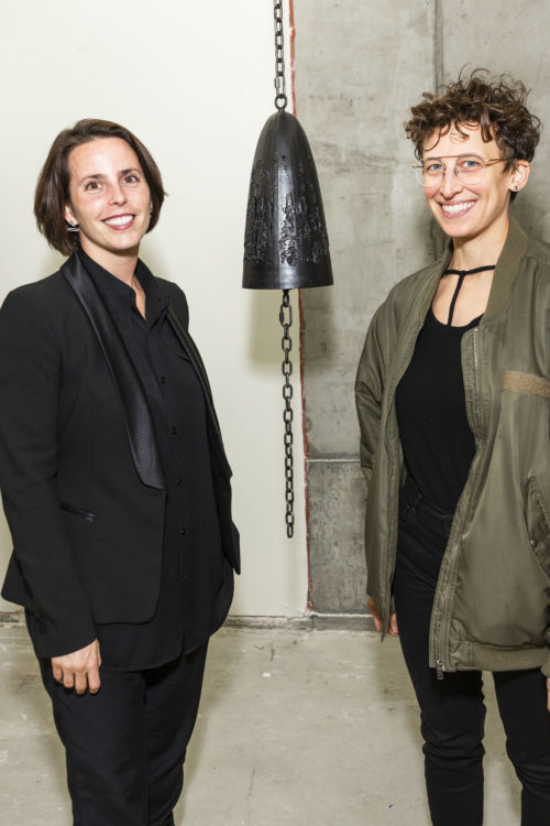 SAN FRANCISCO, CA - September 12 - Jessica Silverman and Davina Semo attend 288 Pacific and Jessica Silverman Pop Up Gallery Party on September 12th 2018 at 288 Pacific in San Francisco, CA (Photo - Drew Altizer Photography)