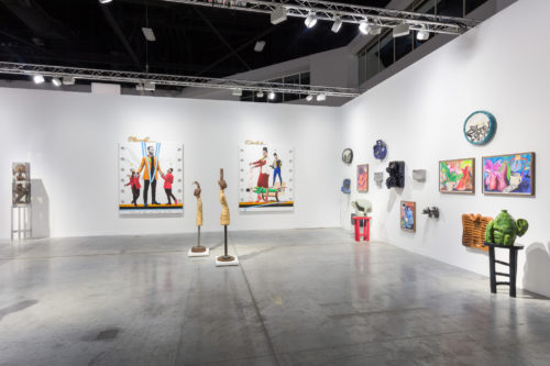 Installation view<br> Art Basel Miami Beach 2019