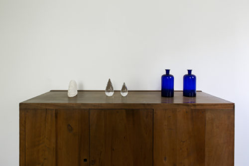 Installation view, <em>Emissaries for Things Abandoned by Gods</em>, 2019<br>Casa Luis Barragán