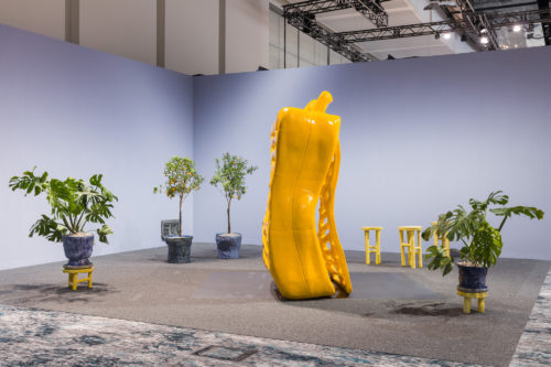 Installation view<br> Cool Composition, 2019<br> Art Basel Miami Beach 2019, Meridians