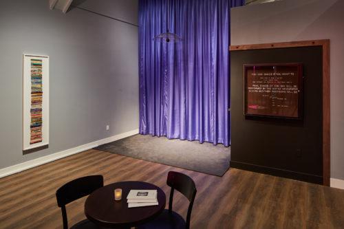 <i>To Know Herself</i><br> 2019 <br> Installation View, CCA Wattis Institute<br> Photo: Glen Cheriton