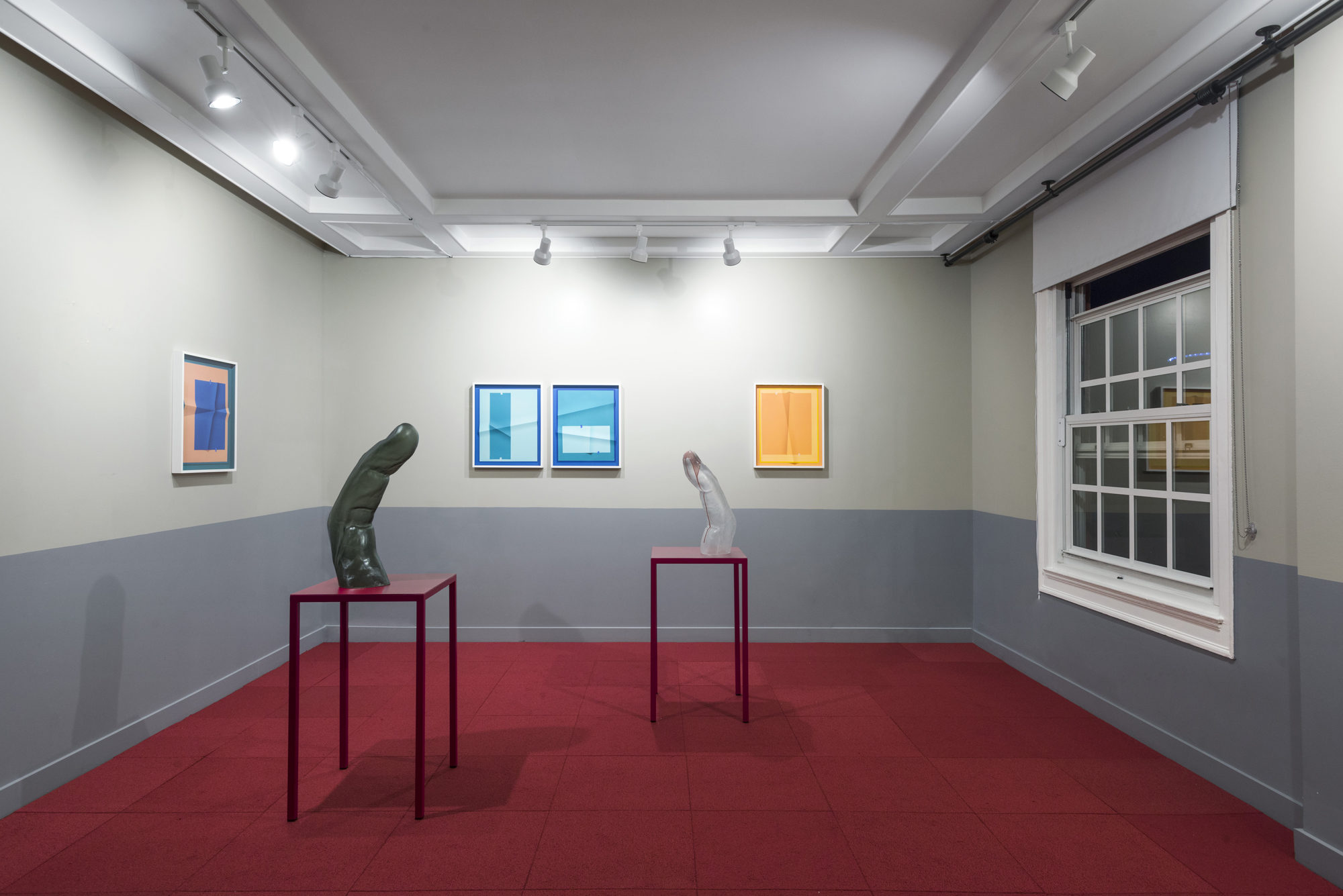 Installation view<br> Felix Art Fair, 2020<br> Jessica Silverman Gallery