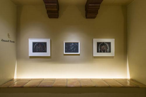 Installation view<br> Felix Art Fair, 2020<br> Jessica Silverman Gallery